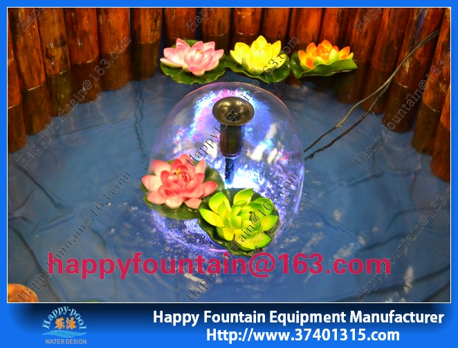 High quality colorful garden decoration small water fountaine