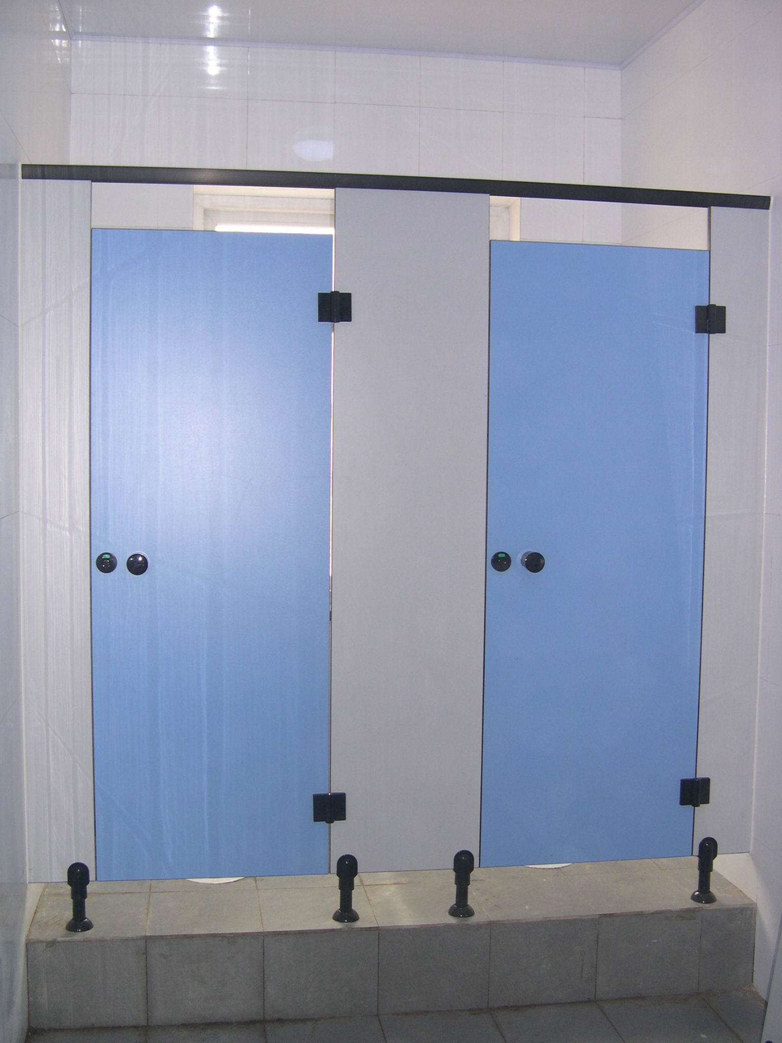 Rich-lees factory hpl laminate solid phenolic mould proof toilet cubicle partition