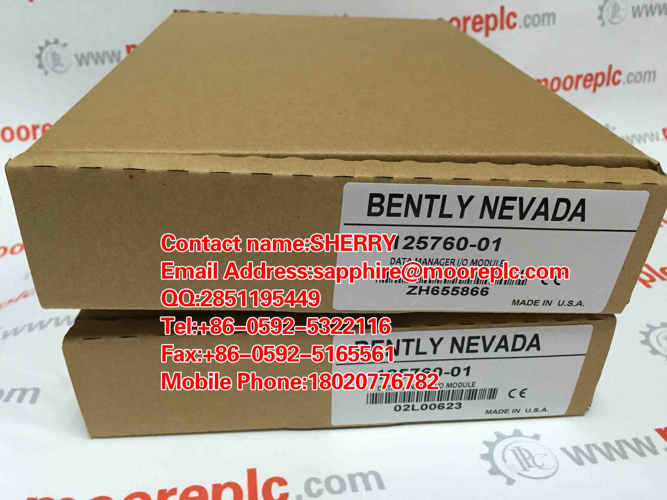 Bently Nevada 3500/92 350092 NEW FACTROY SEAL