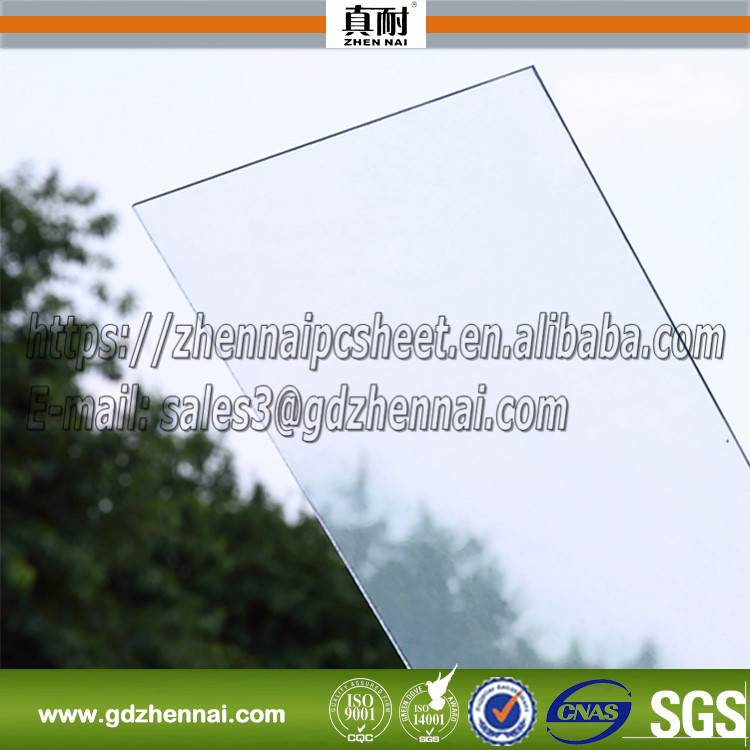 SGS ISO Approve Ten Years Guarantee tinted polycarbonate sheet and colored polycarbonate sheet for r