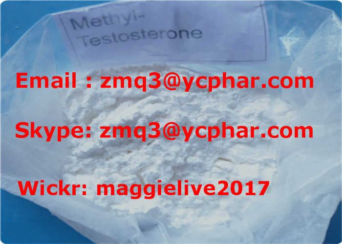 CAS 58-18-4 Androgenic Anabolic Steroid Powder 17-Methyltestosterone for Bodybuilding