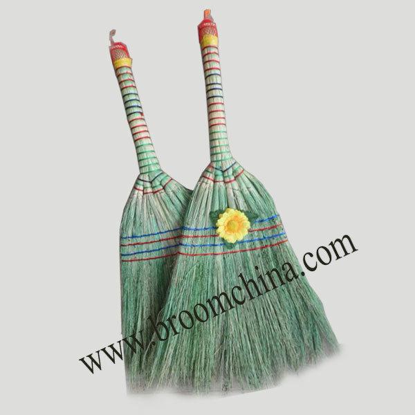 wholesale indoor cleaning short handle sorghum broom