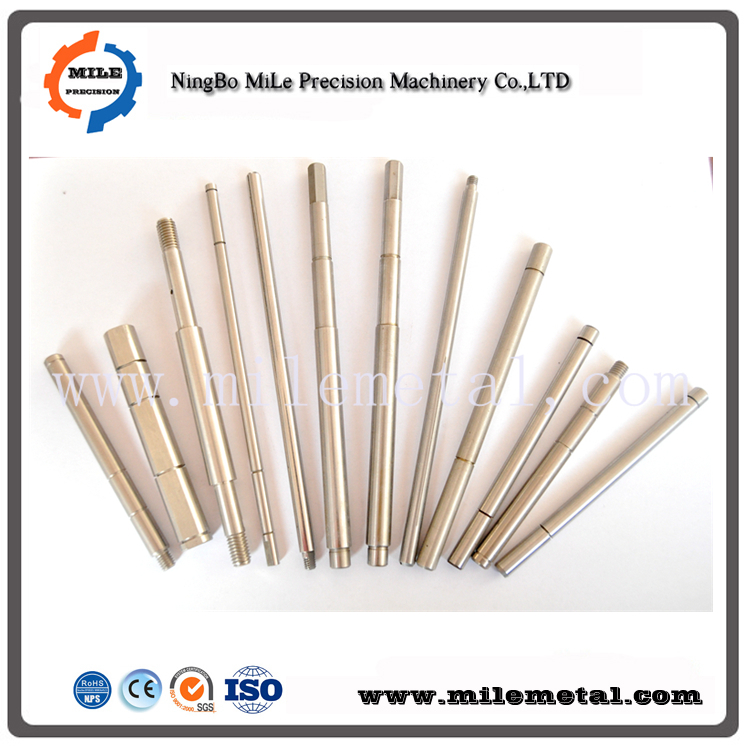 Precision OEM steel/Stainless steel linear shaft/gear shaft/pins manufacturer
