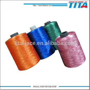 Polyester vivid color embroidery thread from Hangzhou