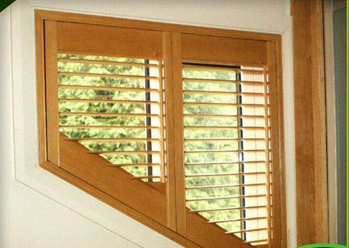 2016 Factory Hot Selling New Design Top Quality Window Timber Plantation shutters