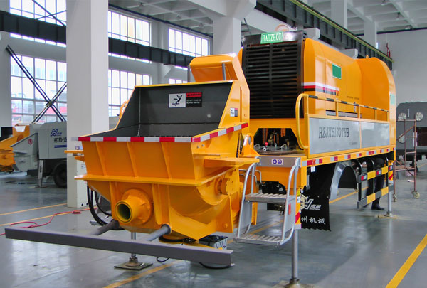 Truck Mounted Concrete Pump (no chassis)