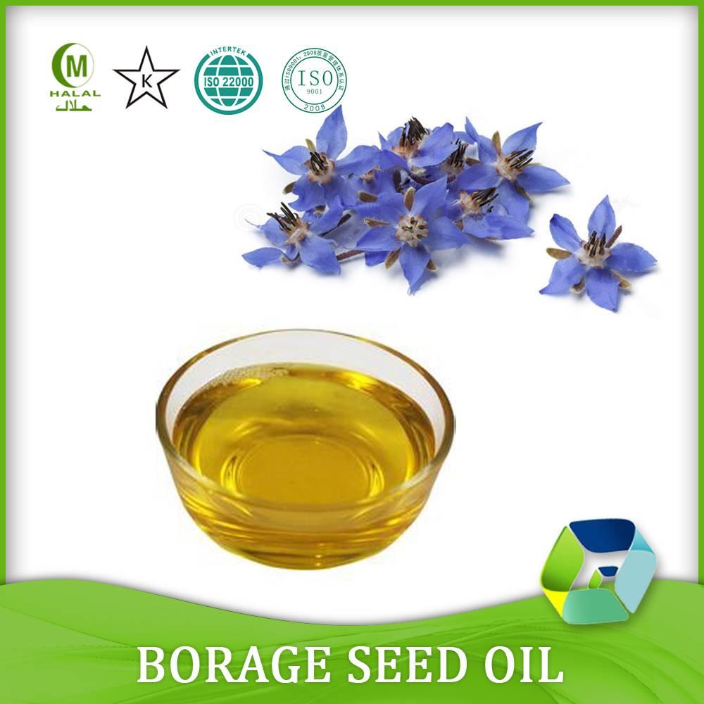 100% Organic Borage Oil/Borage Seed Oil in bulk