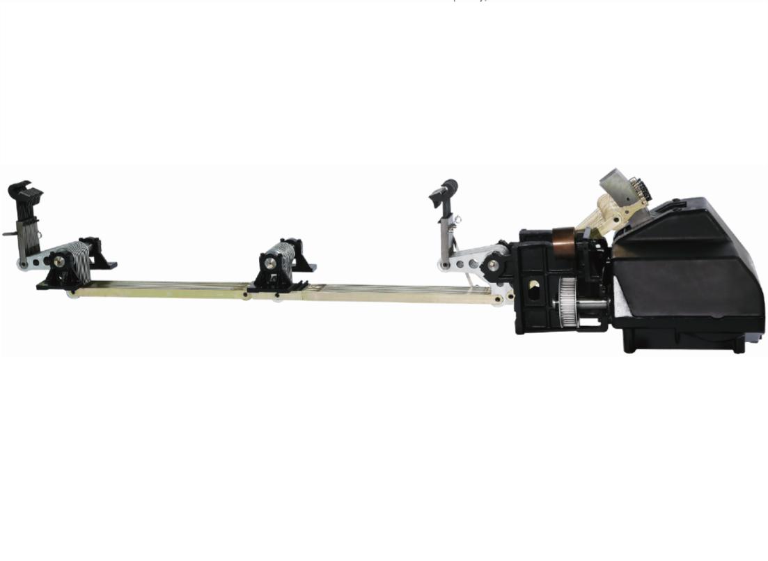 Positive Cam Motion Shedding Machine for Air-jet Loom