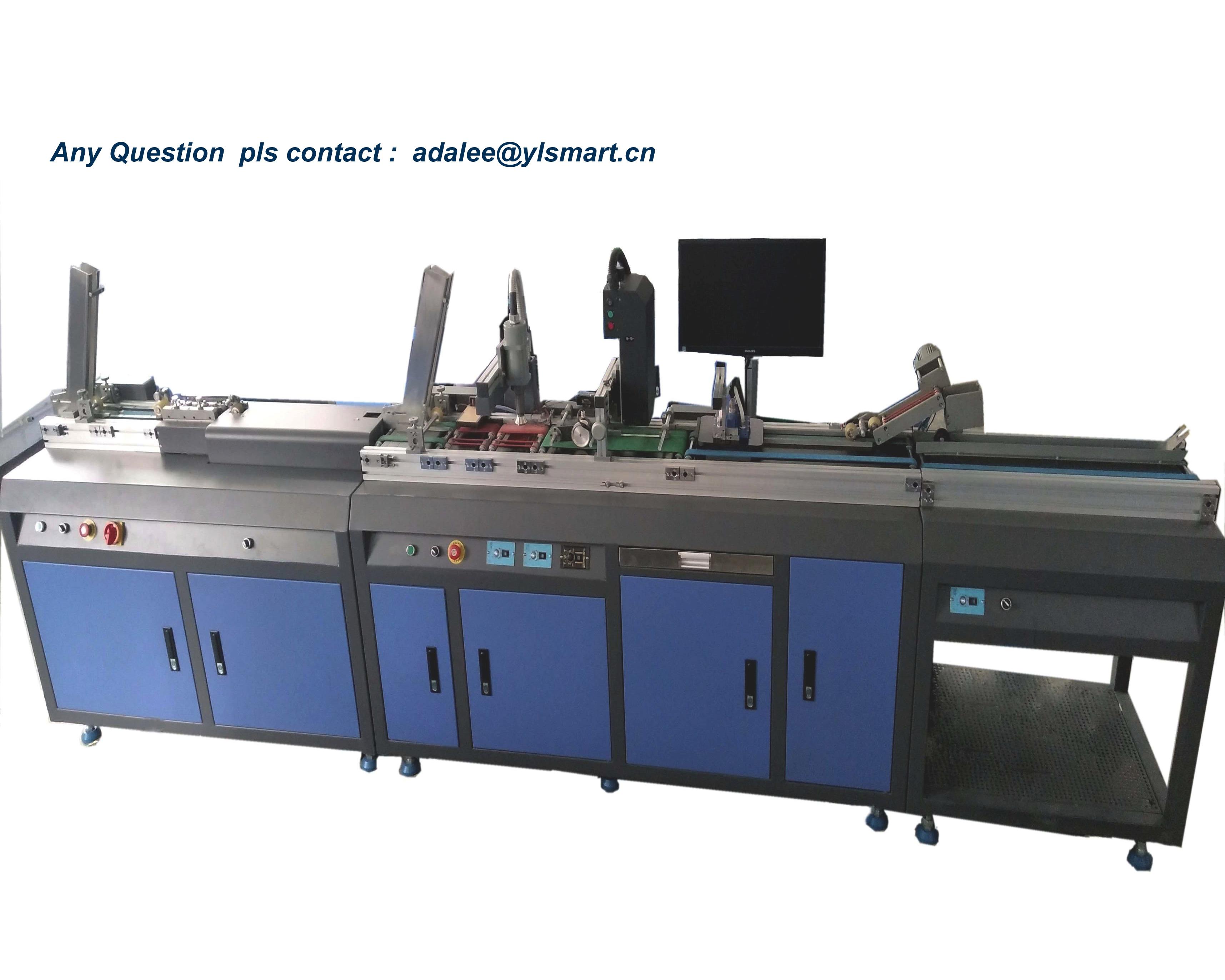 Card DOD personalization machine YEDU-2B