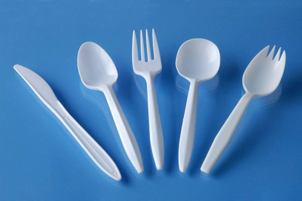 Food Grade Disposable Plastic Flatware