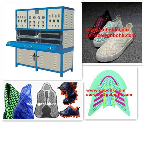 fashion colored sneakers trainers sports shoe cover molding machine