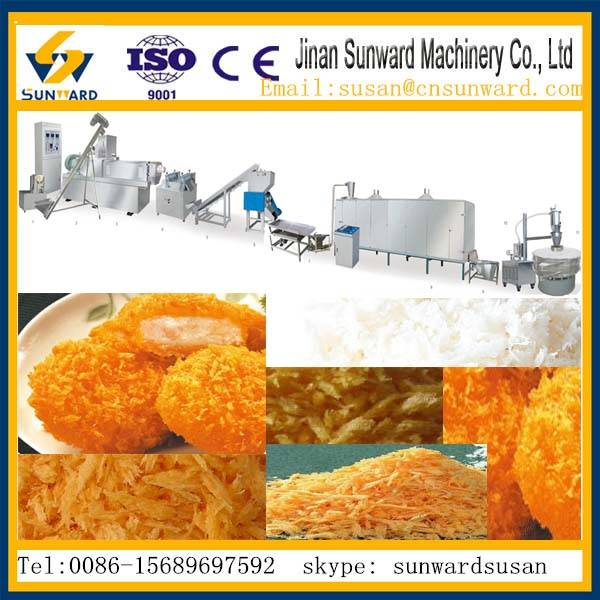 CE certification Top quality bread crumb production line