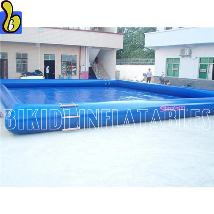 Custom Giant Inflatable Swimming Pool For Outdoor