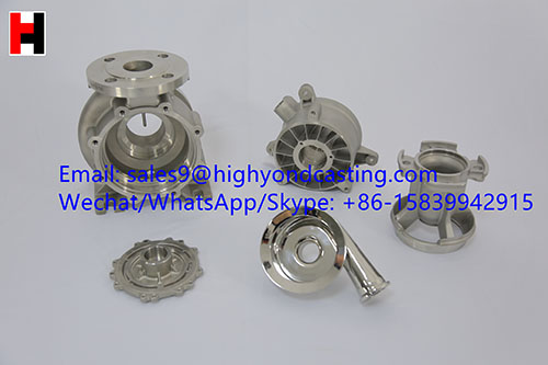 China Casting Supplier Investment Casting Lost Wax Casting Body Pump