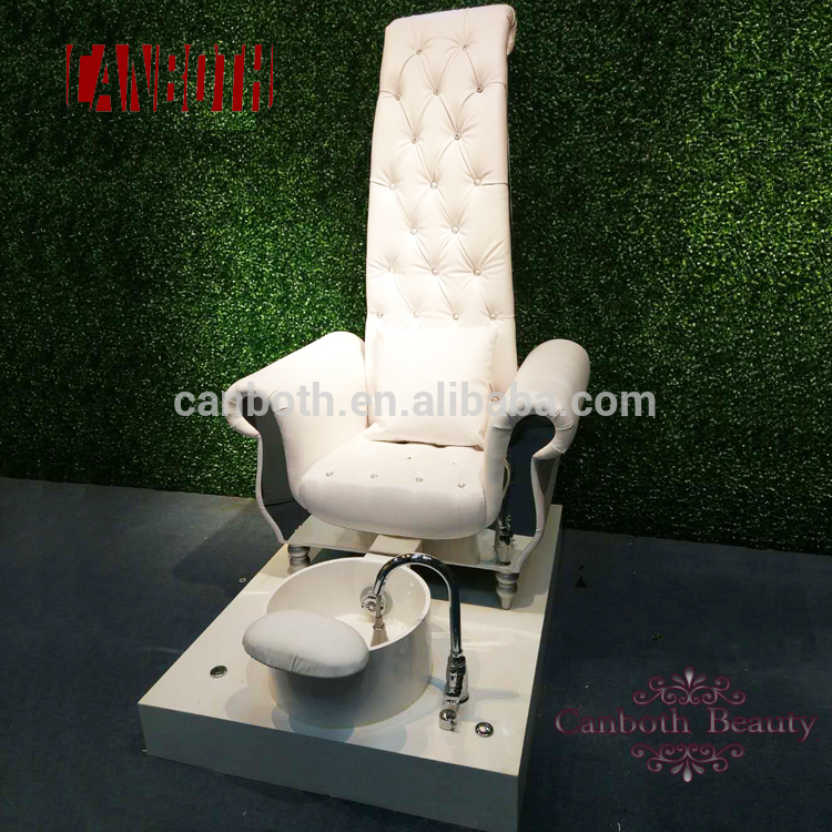 canboth Luxury style throne spa pedicure chair with whirlpool jet CB-FP002