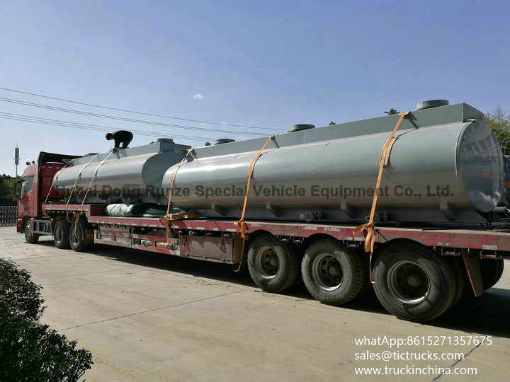Chemical Tank For HCL Cargo truck upper body tank HCL 16000L