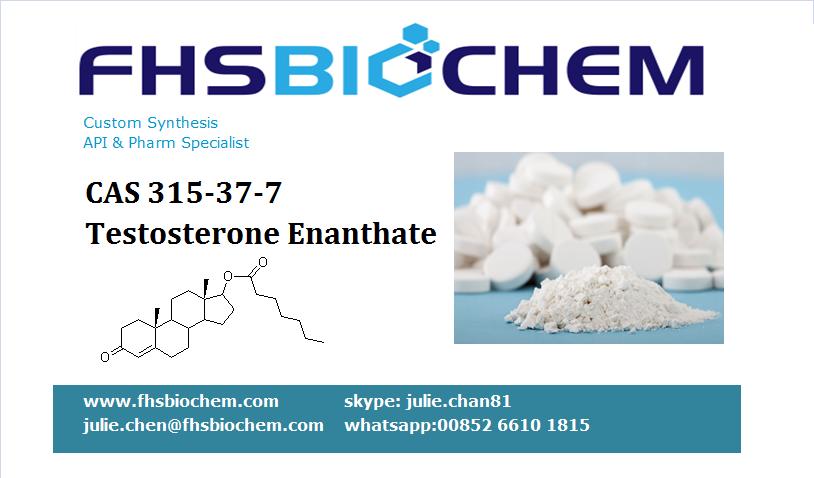 Buy Legal Testosterone Enanthate Powder USA, CAS 315-37-7, Testosterone Enanthate Powder Male