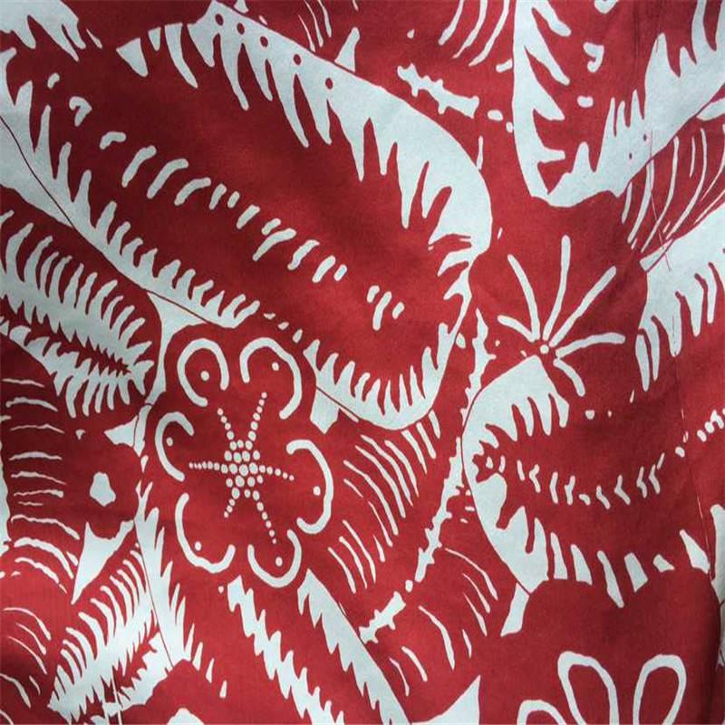 hangzhou silk on factory price, real silk women apparel printed fabric