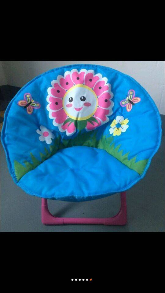 kid's  moon chair folding cartoon chair kids lazy chair