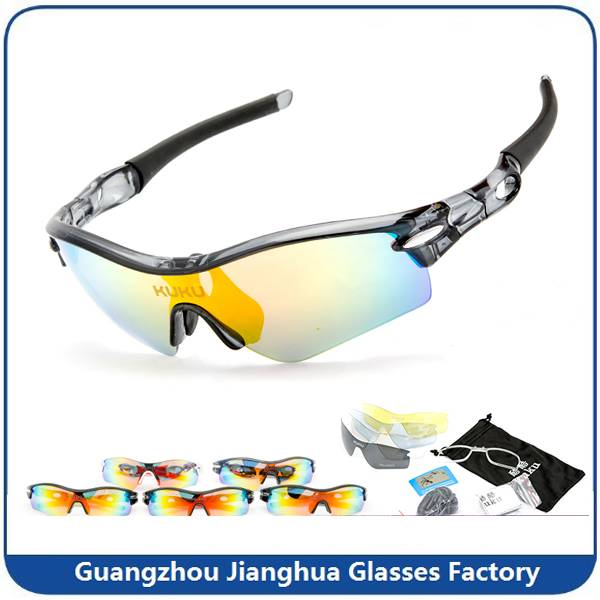 cool Style sport cycling glasses high quality riding sunglasses for men