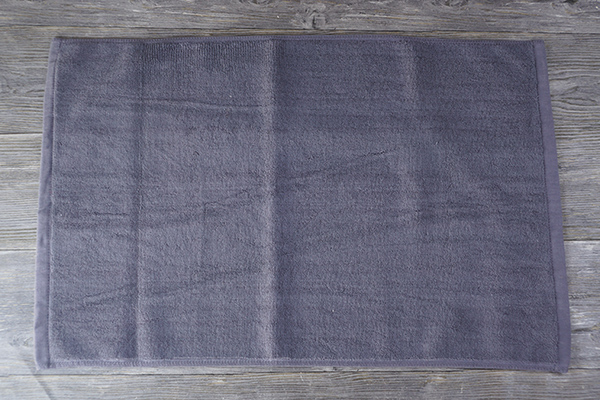 Colorful 5075cm 100% cotton bath mats for hotels