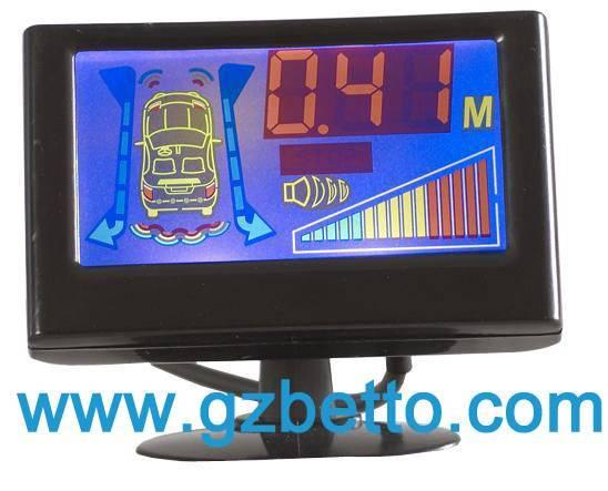 LCD display parking sensor system