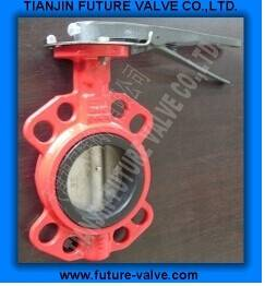 Multi Drilling Wafer Type Butterfly Valve Di Body (D71X-16)