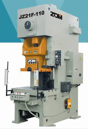 Series JZ21F Open Back Quick-return Press metal forging press puncher machine