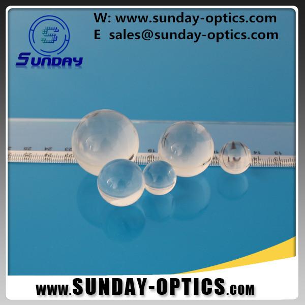 Quartz Ball lens,Quartz Half ball lens,JGS1 Ball lens,UV fused silica ball lens