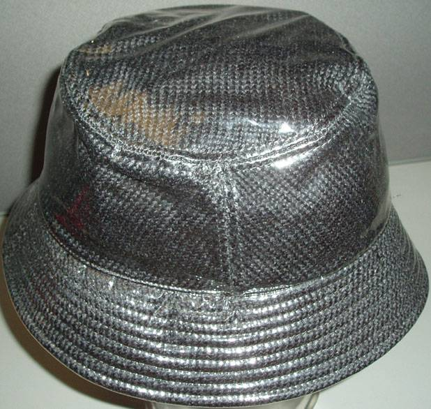Exclusive Products, plastic PVC  fashion rain hat, cap.