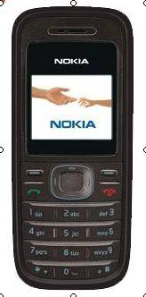 Nokia 1208 low cost cheap mobile phone
