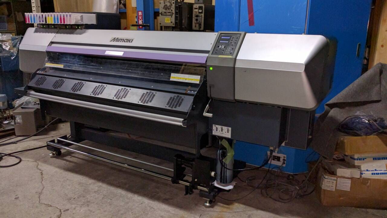 Used Mimaki JV5-160S Year 2011