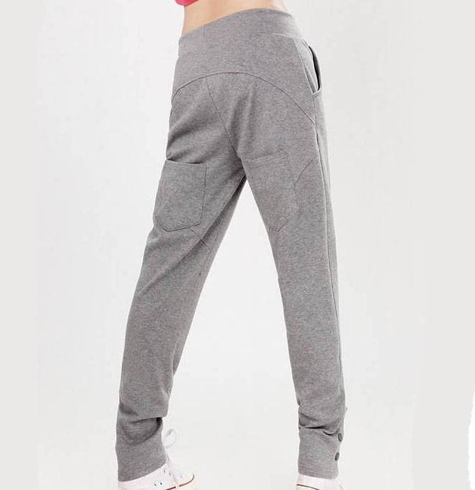 Fashion Design Harem Pants Ladies Sweat Pants