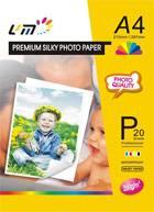 260g RC Silk Photo Paper