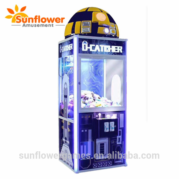 Special UFO Design Toy Crane Claw Machine With Advanced Stable Quality Mother Board Newest Gift Vend