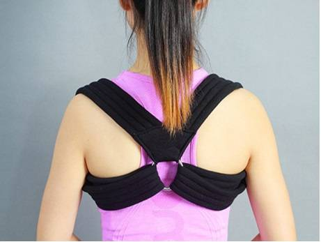 Medical grade breathable mesh clavicle brace Posture Support Brace and Upper Back Posture Corrector