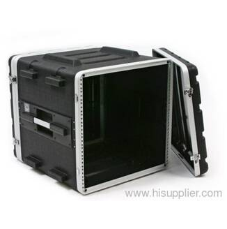 Heavy duty ABS case for 10-unit rack