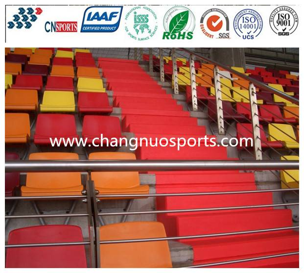 CN-C04 Leisure Area flooring for grandstand,bleachers