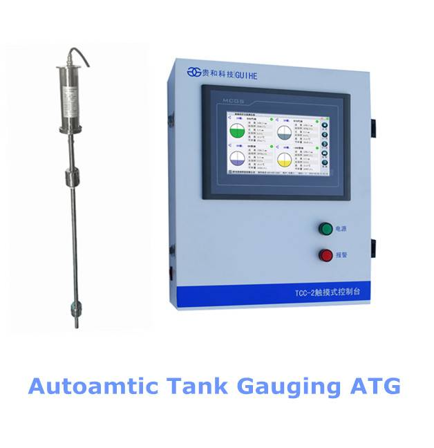 Automatic tank gauges for petrol station