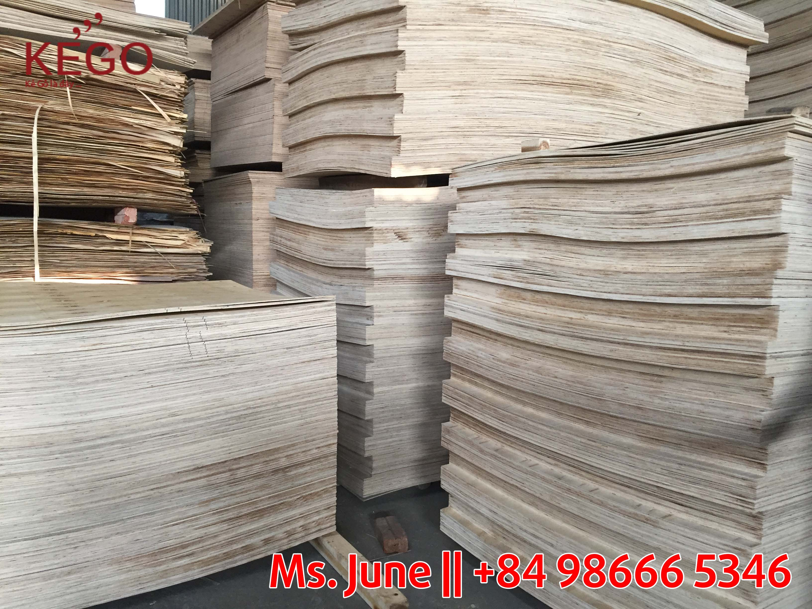 Commercial plywood - packing AB Grade from Vietnam