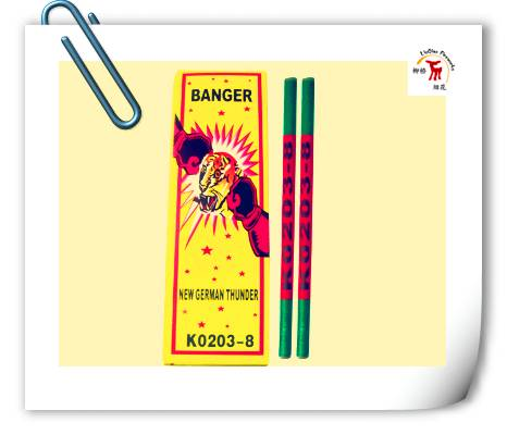 3# Match Cracker( 8 Bangs)| K0203-8