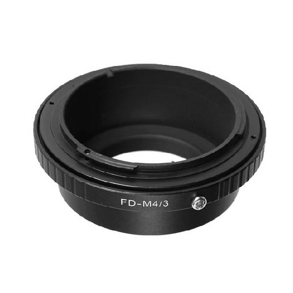 FD-M4/3 camera adapter ring FD lens to mount on Marco 4/3 camera body
