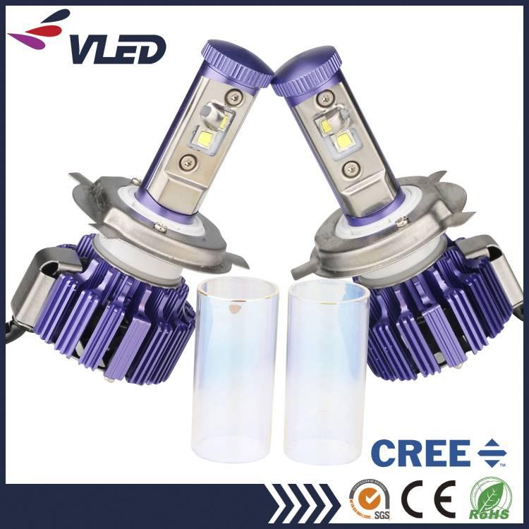 Newest Headlight 8000lm 6000k 3000k H4 H/L Car Parts LED Head Lamp