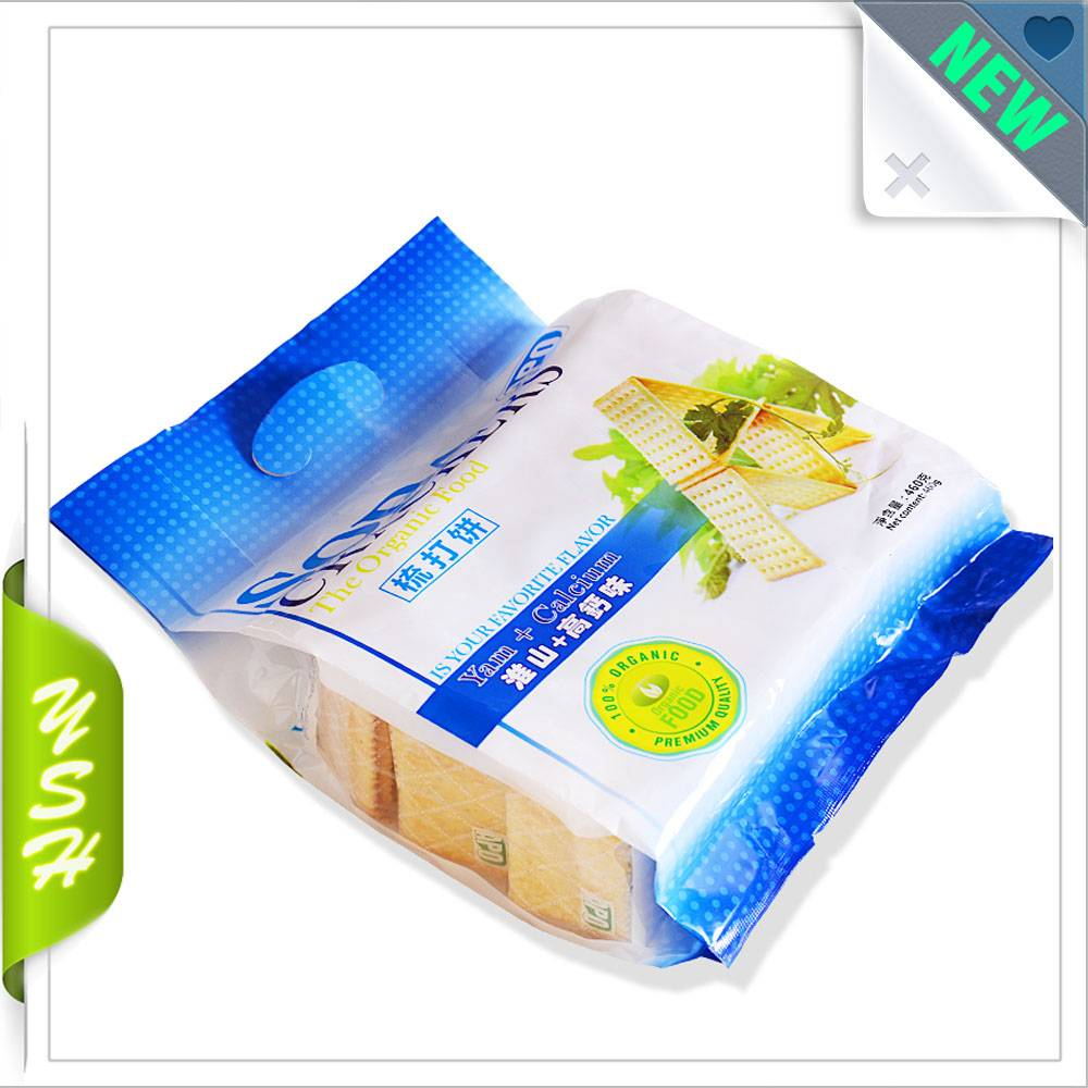 cookie packing pouch plastic lamilated bag