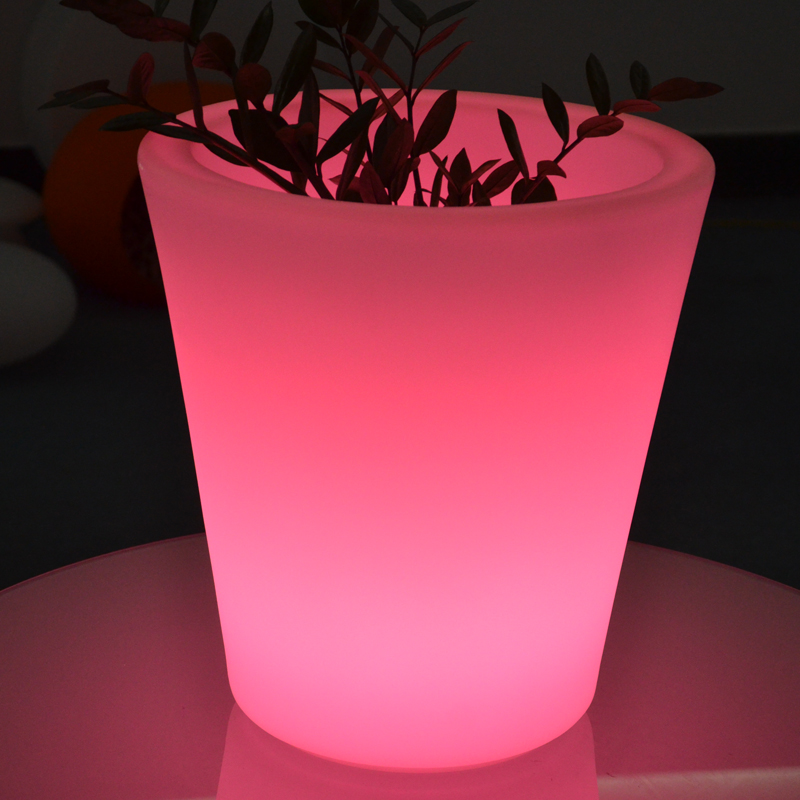 Fashion Energy Drink Led Light Up Ice Bucket