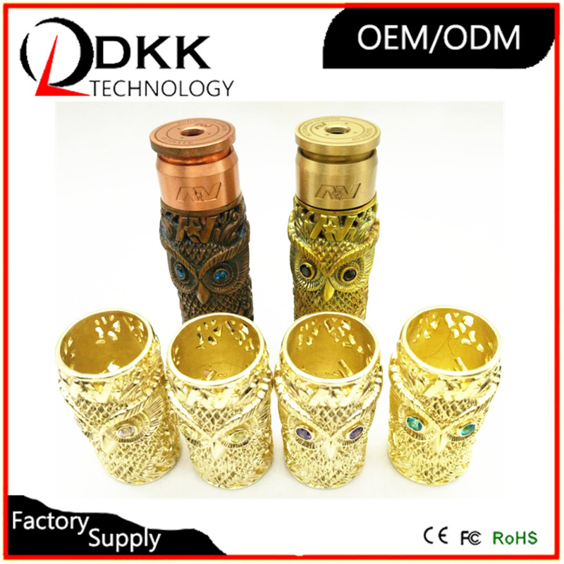 Factory direct selling resin material av sleeve tube mod/kustohm mod clone