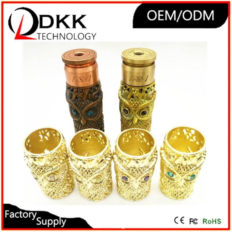 Factory direct selling resin material av sleeve tube mod/kustohm mod clone