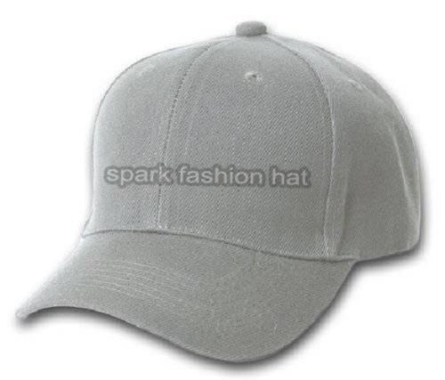 100% cotton plain baseball cap