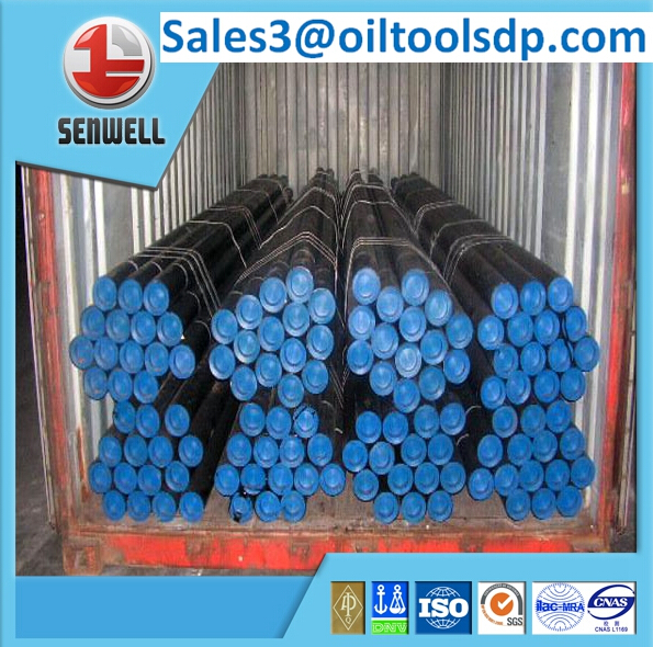 API 5CT seamless steel tubing pipe with NU / EU/ NEW VAM connection