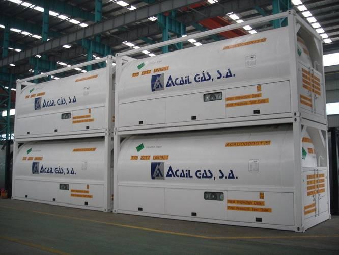 ISO TANK for LIN/LOX/LAR/LNG/LCO2